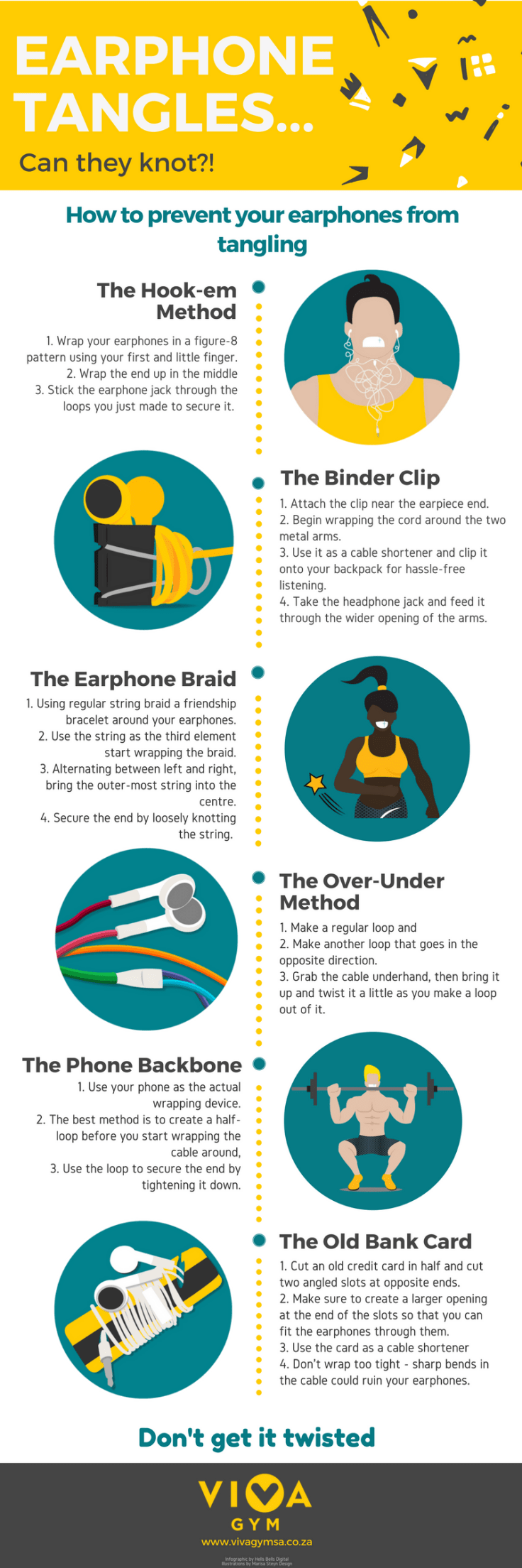 6 Hacks To Detangle Your Earphones