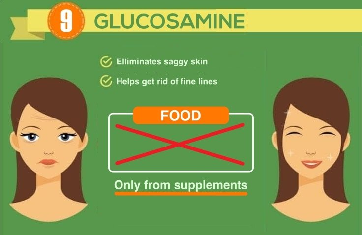 8 Best Anti-Aging Supplements - Glucosamine