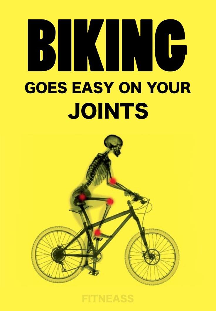 Biking Goes Easy On Your Joints