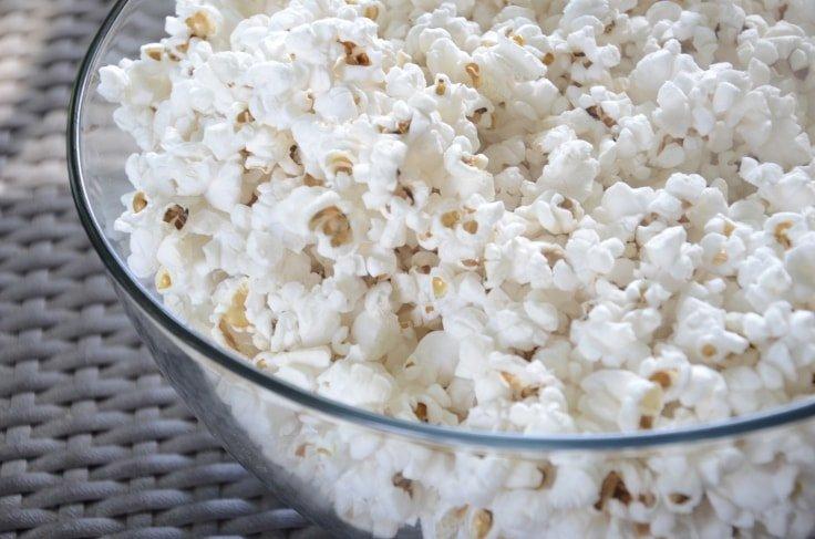 Healthy recipe - Popcorn