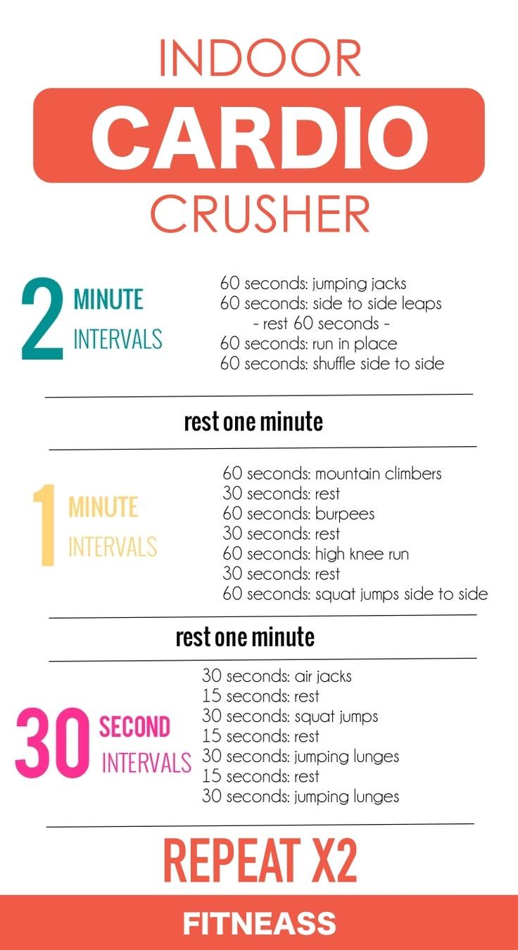 Indoor Full Body Cardio Sessions
