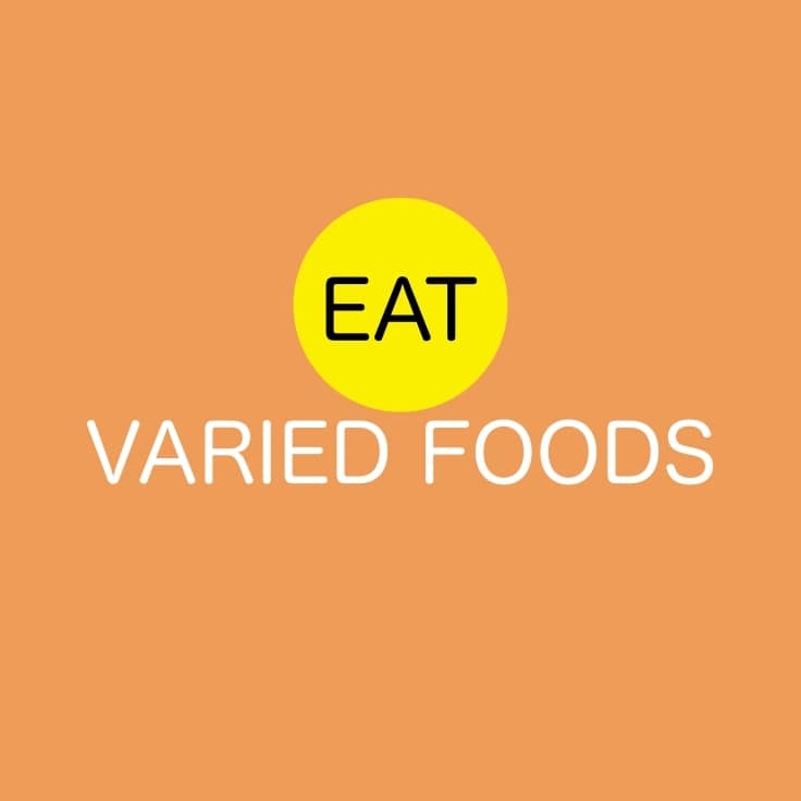 Lose Weight Without A Fad Diet - Eat Varied Foods