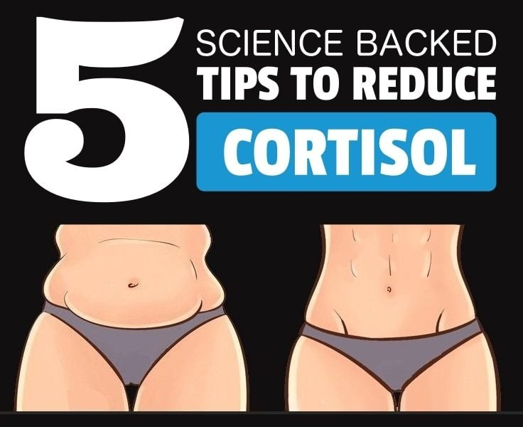 5 Science Baked Tips To Reduce Cortisol Level