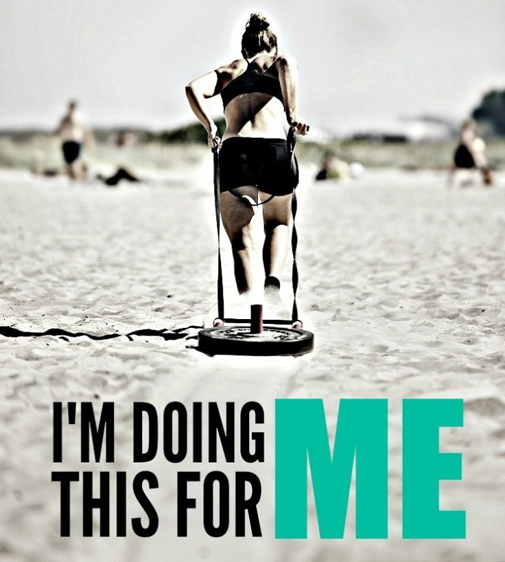 CrossFit - I am doing this for me