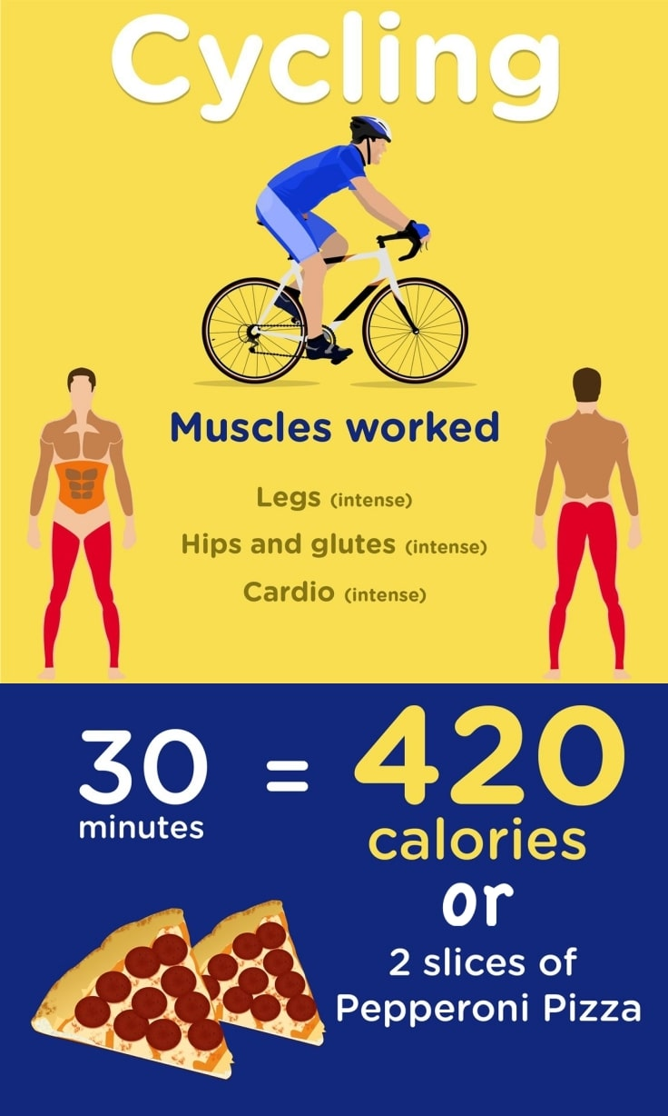 Cycling Calories Burned And Muscles Worked