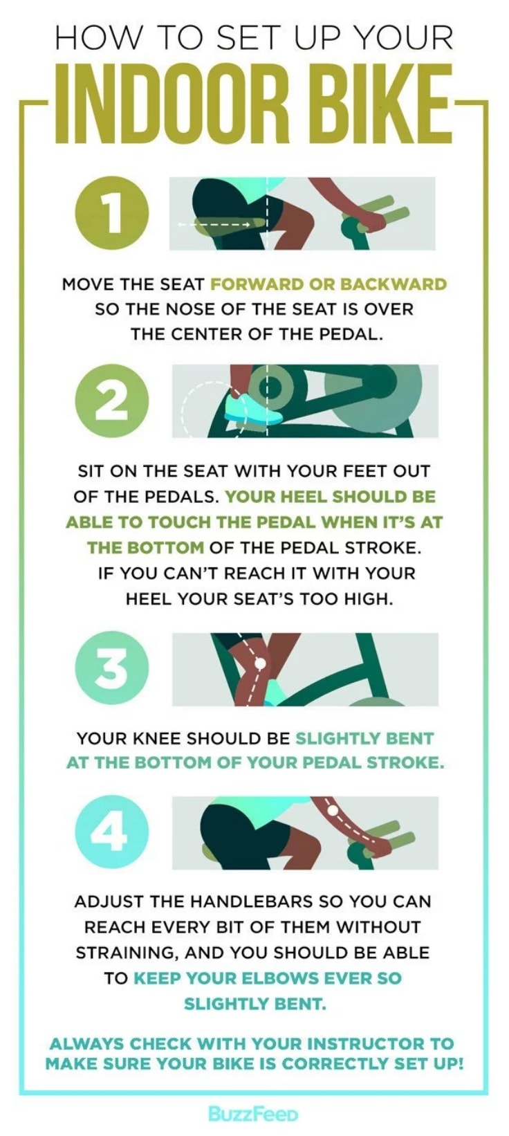 How To Set Up Your Exercise Bike