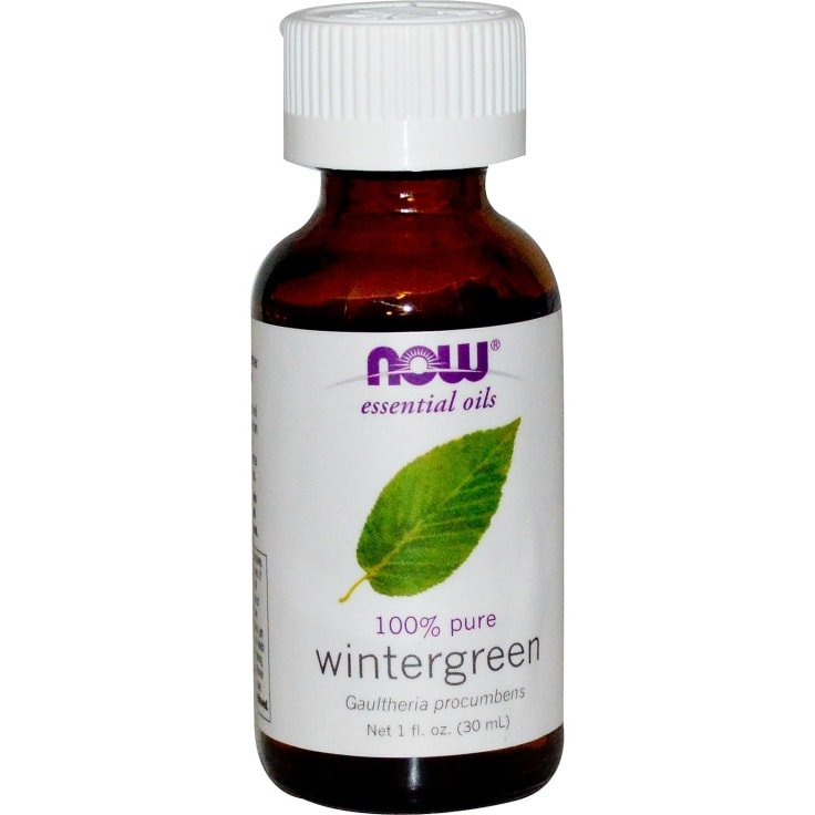 Natural Pain Relievers - Wintergreen Essential Oil