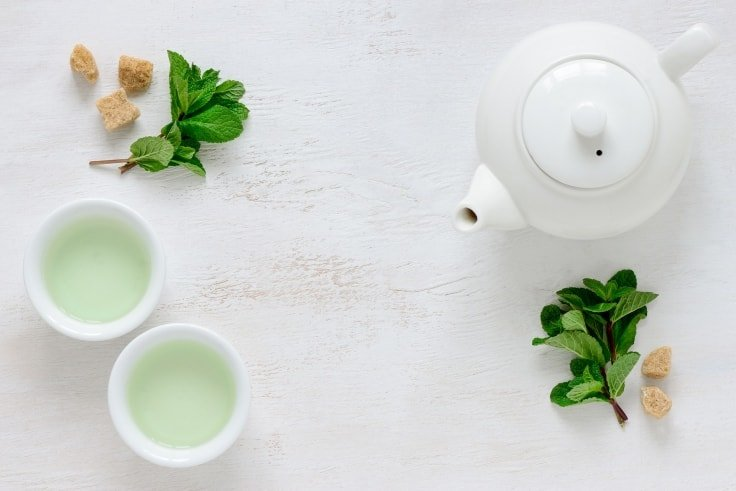 Foods That Alleviate Depression - Green Tea