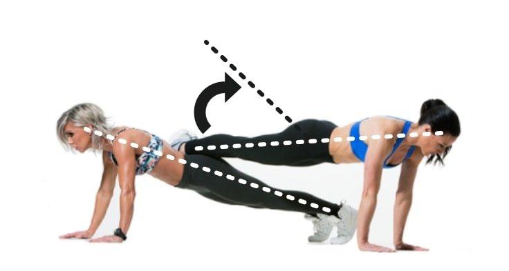 No-Weight Couple Workouts - Plank For Couple
