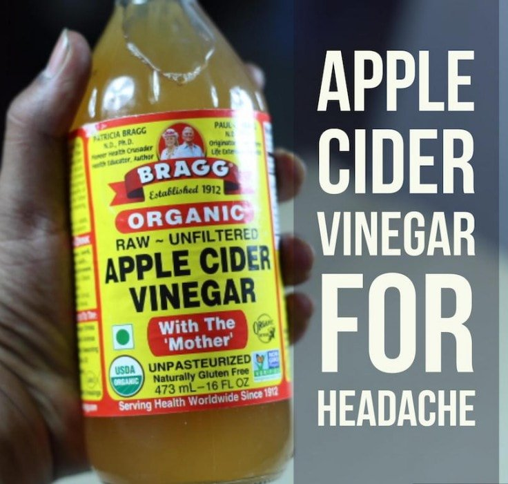 Apple Cider Vinegar For Tension Headaches
