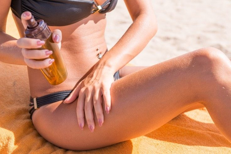 Easy Healthy Tips - Wear Sunscreen