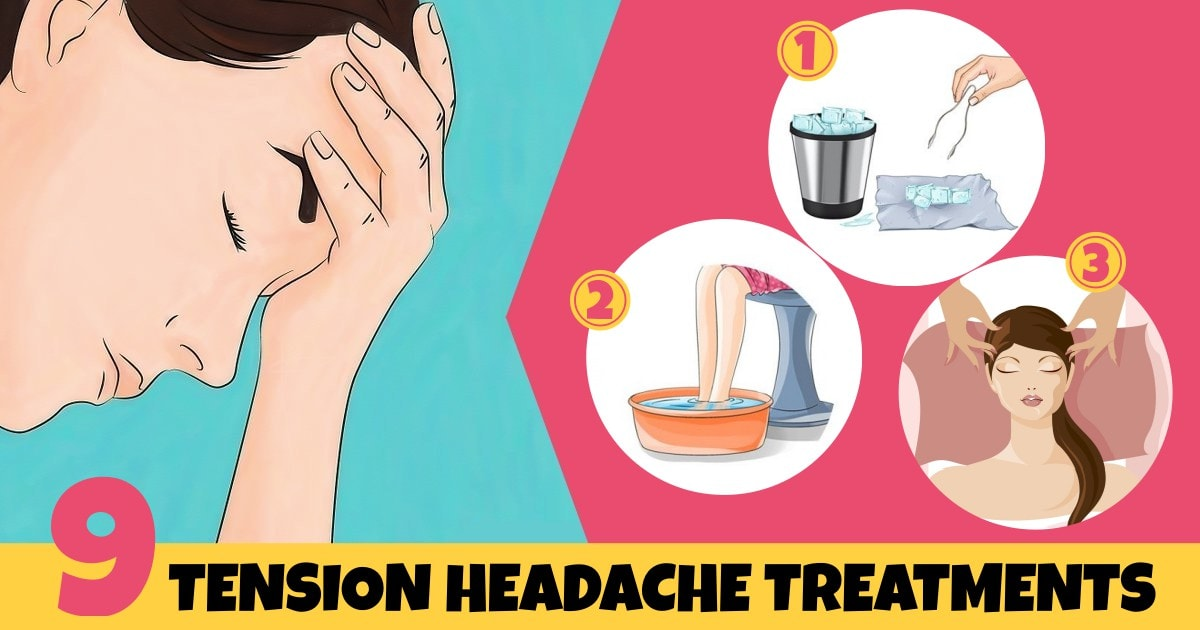 Natural Home Remedies For Tension Headaches