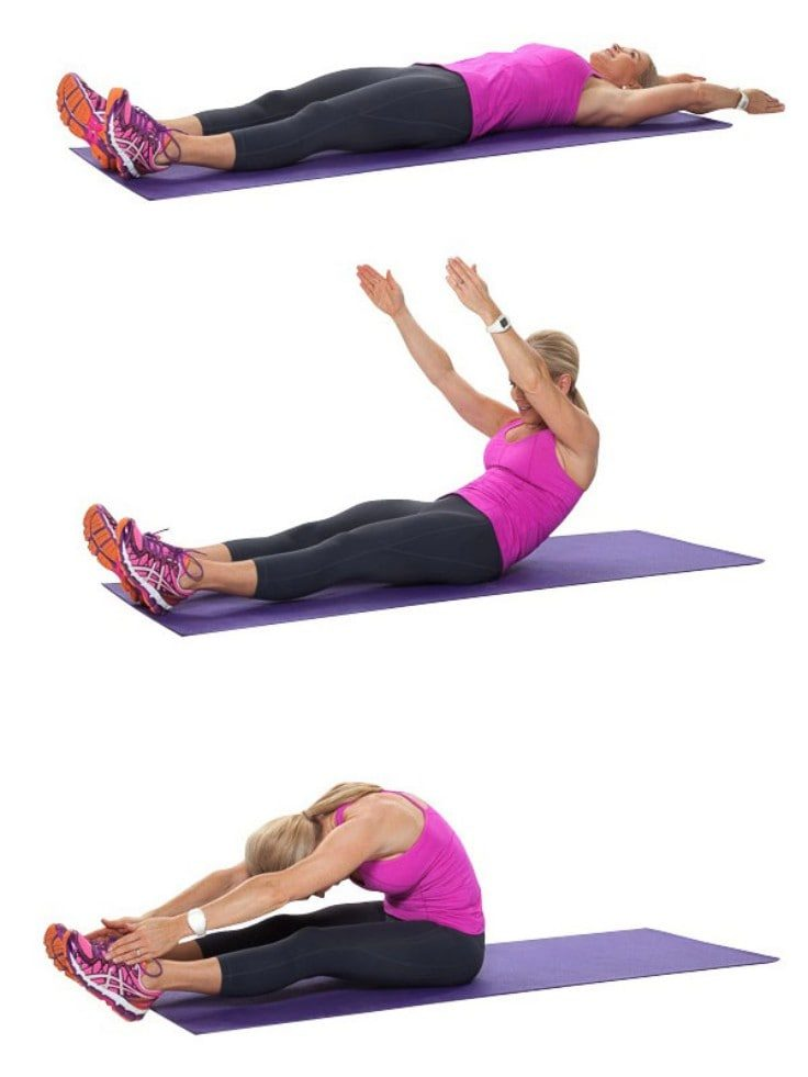 Full Body Pilates Moves - Rollups