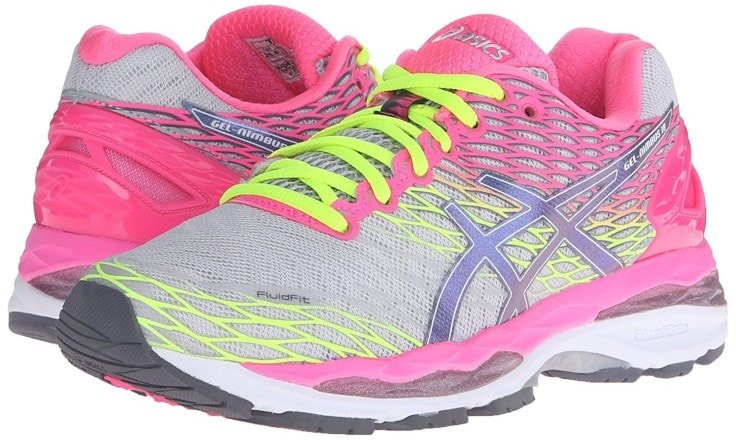 Wide Width Shoes For Women - Asics Gel Nimbus 18