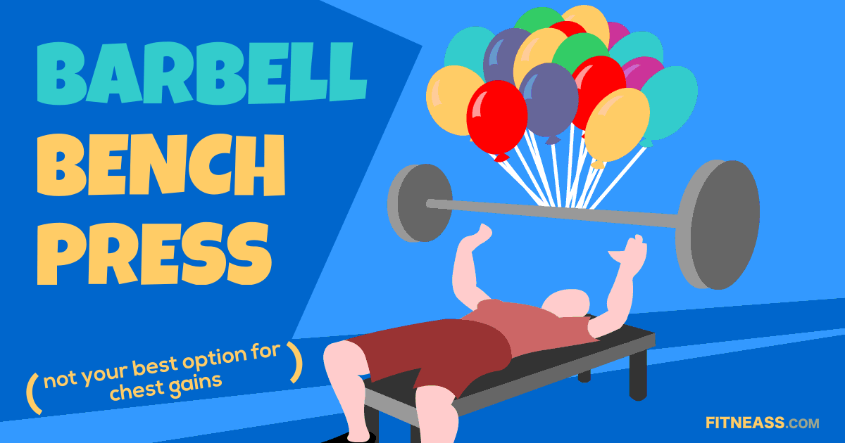 Barbell Bench Press Exercise And Why I Don't Do It Anymore
