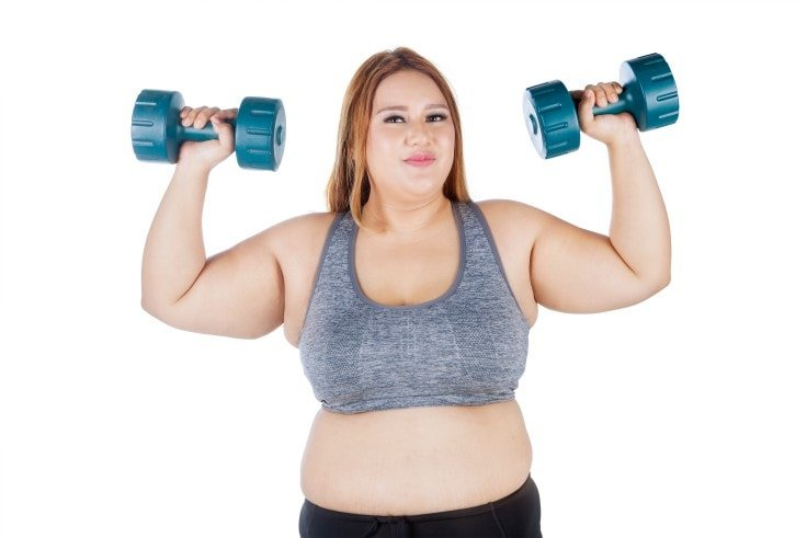 How To Exercise Safely When You're Overweight - Do Weight Training