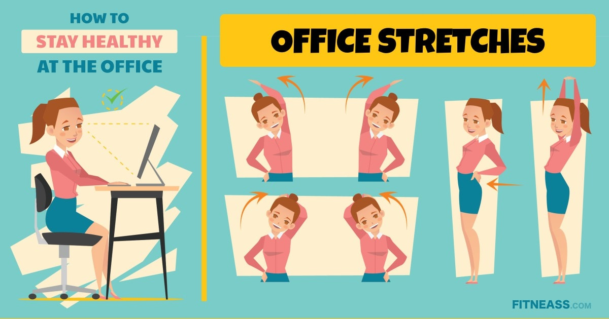 Office Health Tips - Stretch Your Body