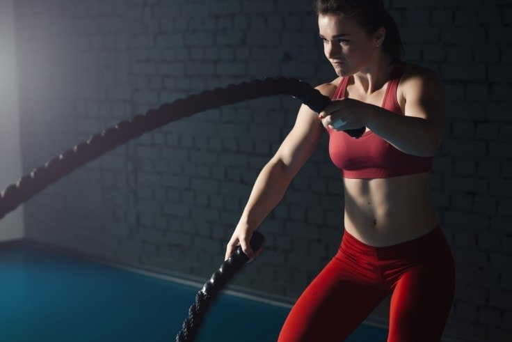 Switch Up Your Workout Routine - Battle Rope