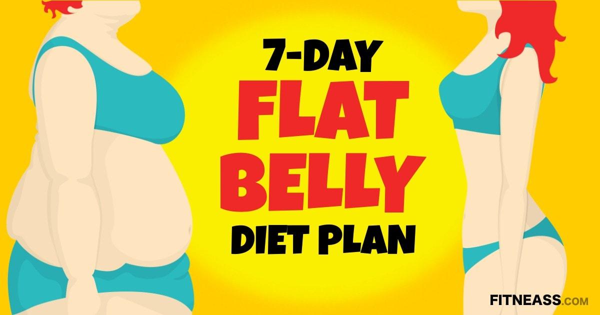 7-Day FlatBelly Diet Plan