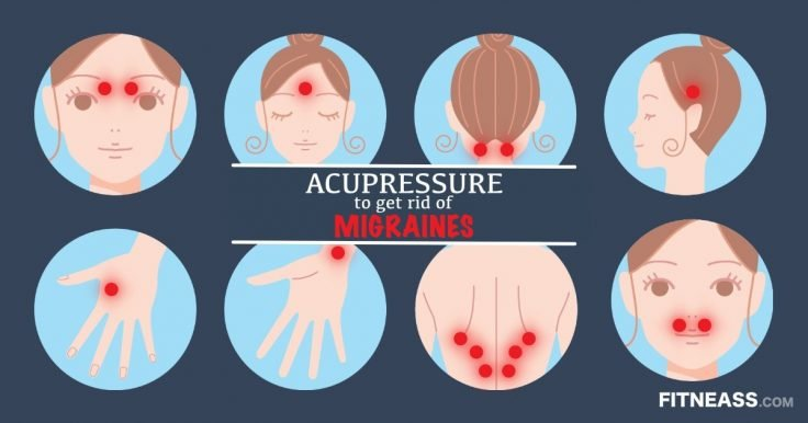 Acupressure Points To Get Rid Of Painful Migraines