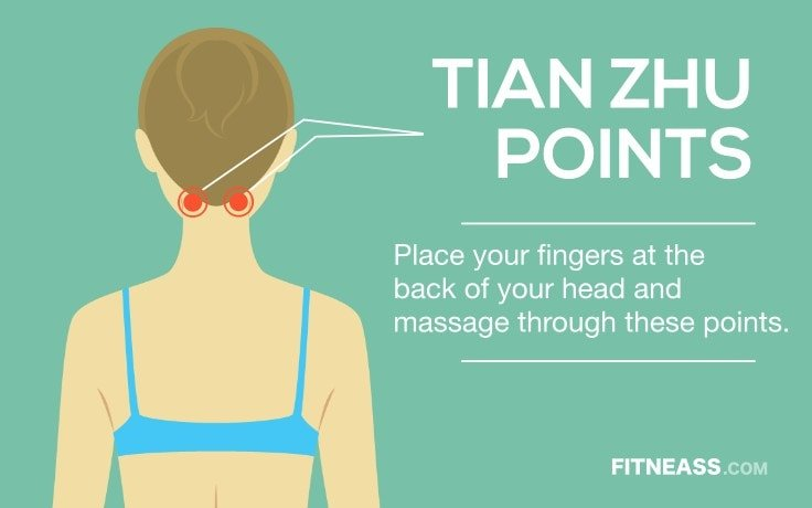 Acupressure Points To Get Rid Of Painful Migraines - TianZhu