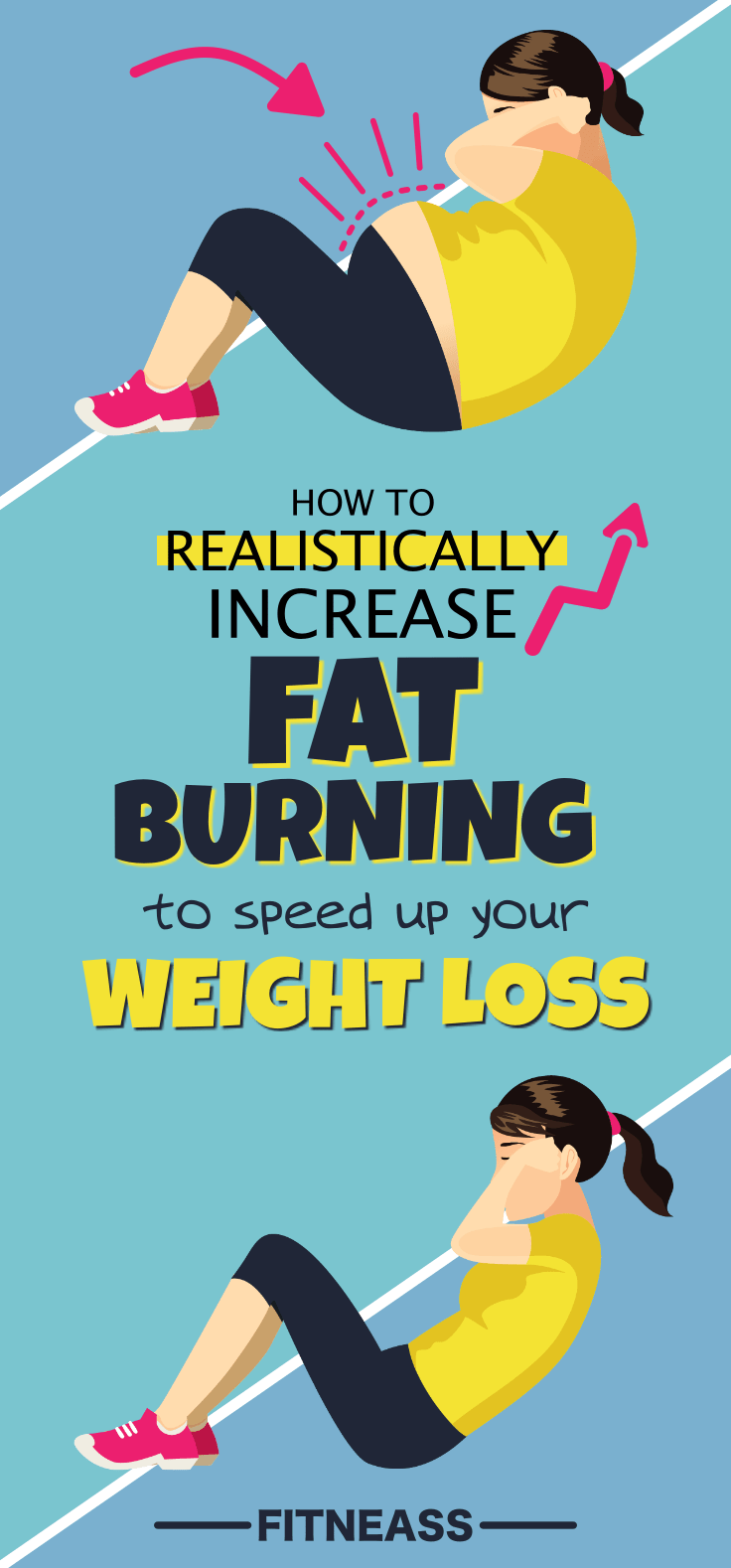 How To Realistically Increase Fat Burning