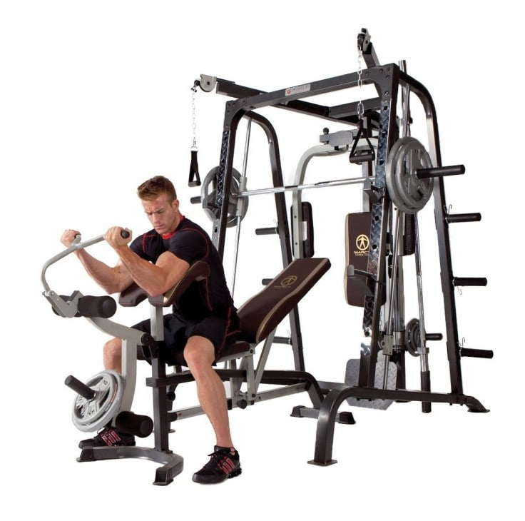 Top Home Fitness Equipments - Smith Machine