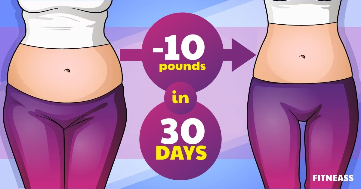 10 Ways To Burn 100 Calories And Lose 10 Pounds In 30 Days