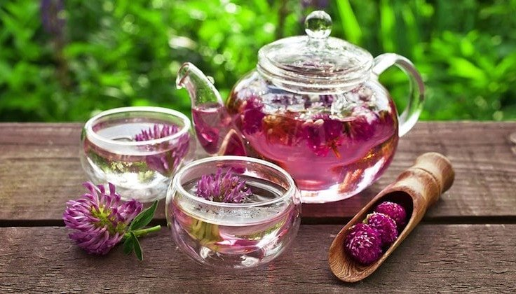 Get Rid Of Belly Fat - Drink Herbal Teas