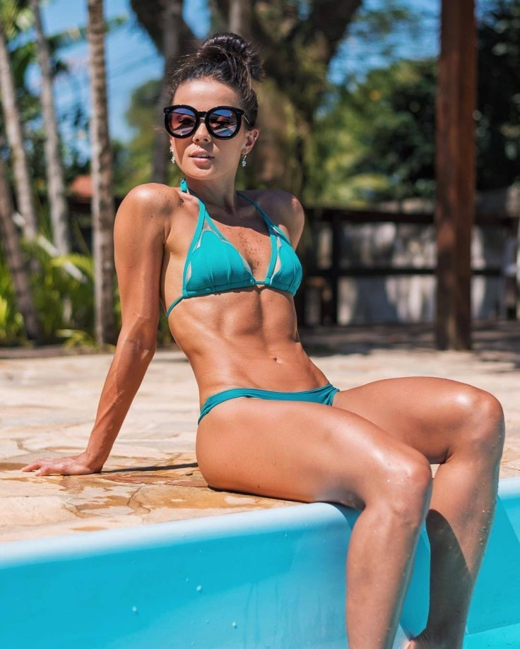 Super-Fit Body Of A Swimmer