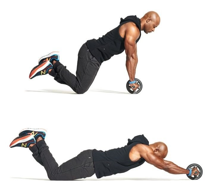 Exercises To Prevent Hernia - Ab Wheel Rollouts