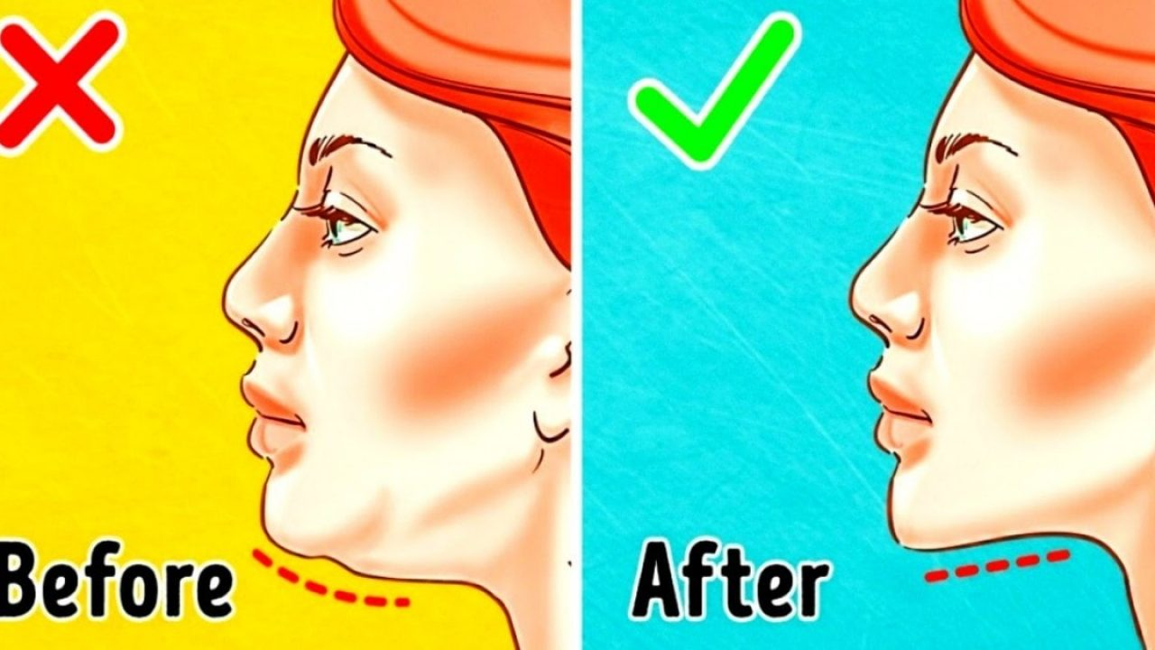 11 Best Facial Exercises To Lose Weight In Your Face - Fitneass