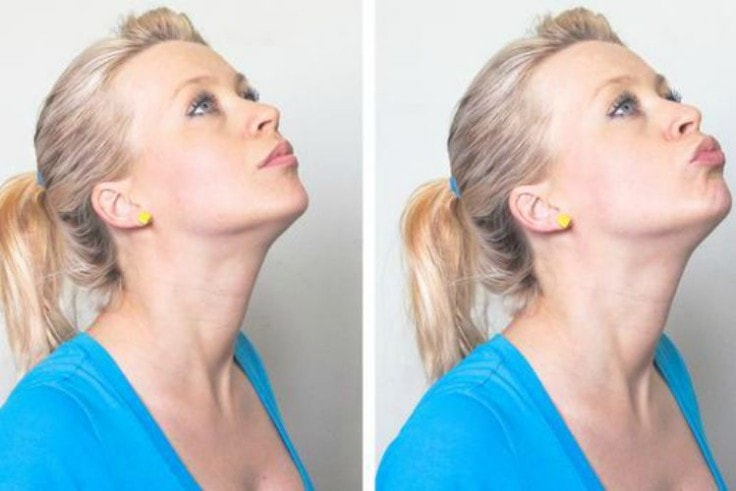 Best Facial Exercises - Candle Blow