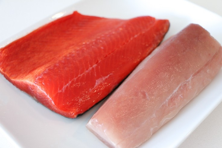 Best Foods To Eat To Gain Muscle And Lose Fat - Salmon And Tuna