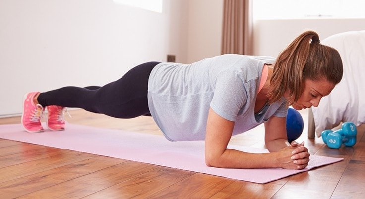 Full Body Workouts On A Mat - Planks