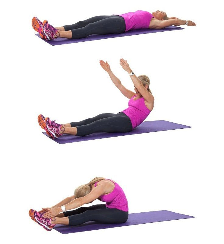 Full Body Workouts On A Mat - The Roll Up