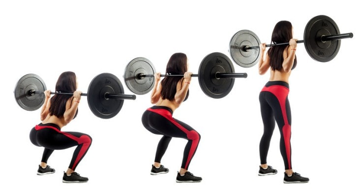 How To Get A Bigger Butt - Barbell Squats