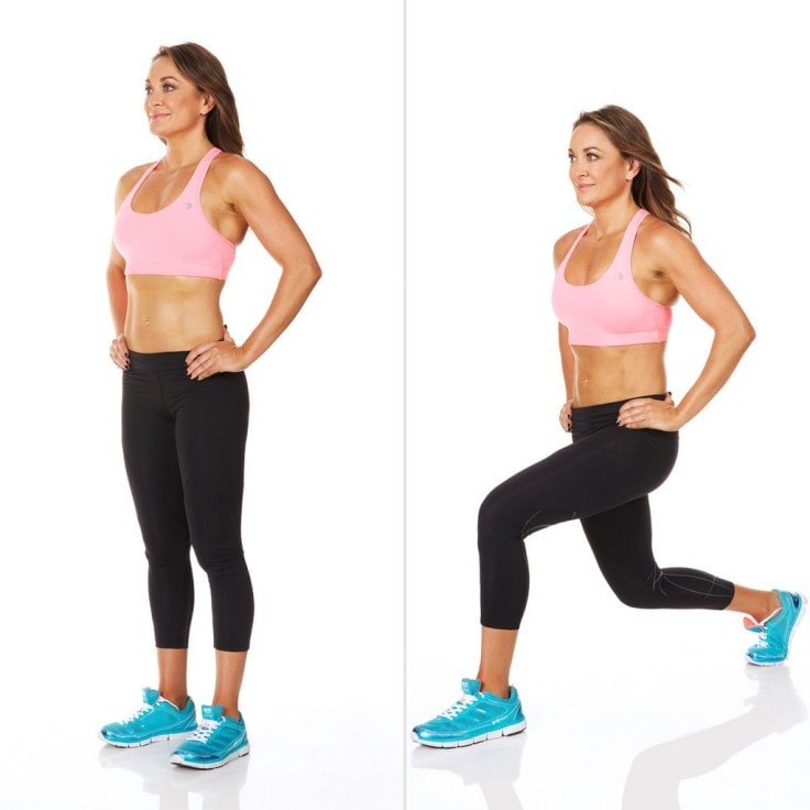 Intense Fat Burning Workouts - Lunges