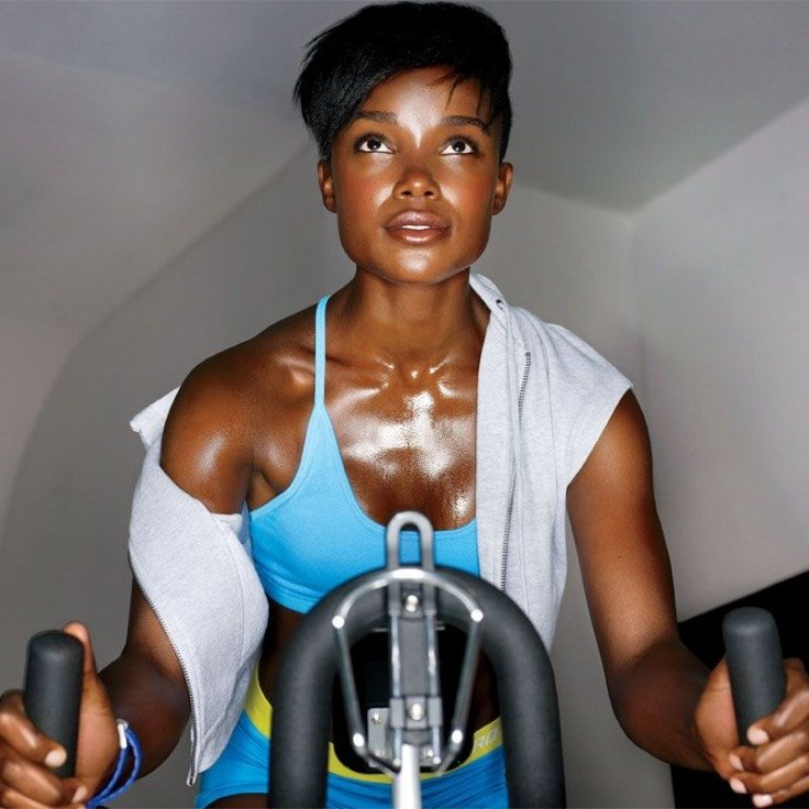 Sweating And Burning Fat While Cycling