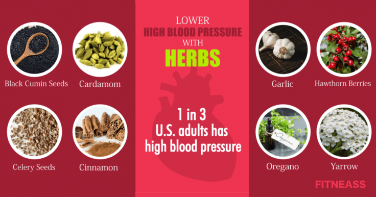8 Powerful Herbs For High Blood Pressure (Hypertension Relievers)