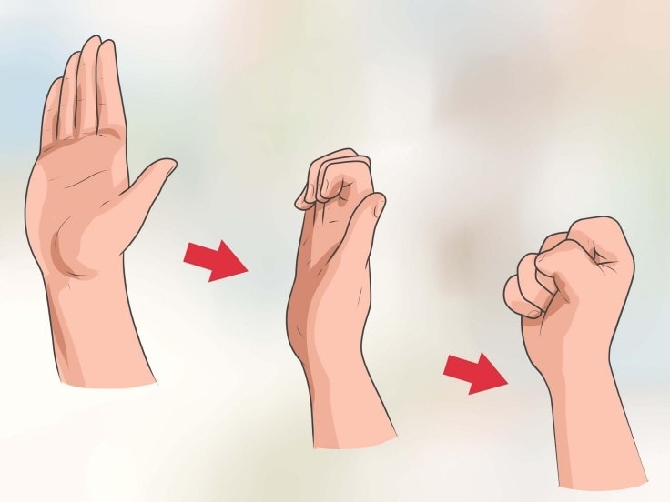 Hand Exercises - Flex Your FistHand Exercises - Flex Your Fist