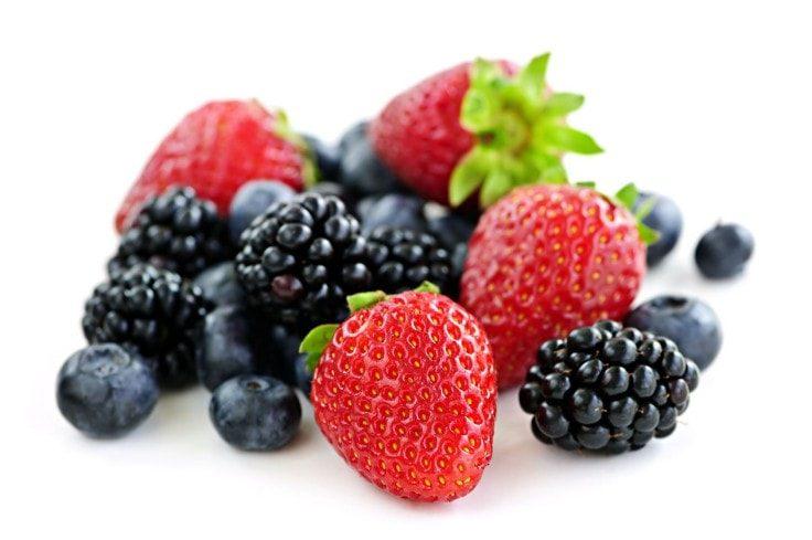 Heart Healthy Vegetables - Blueberries, Blackberries And Raspberries