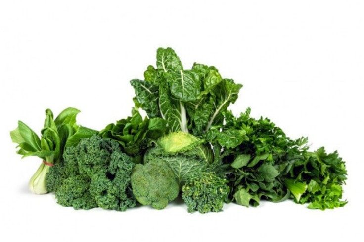 Heart Healthy Vegetables - Broccoli, Kale, Spinach