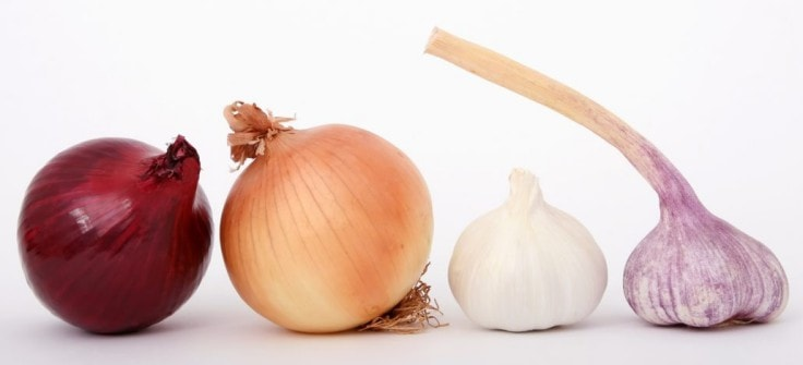 Heart-Healthy Vegetables - Garlic And Onions