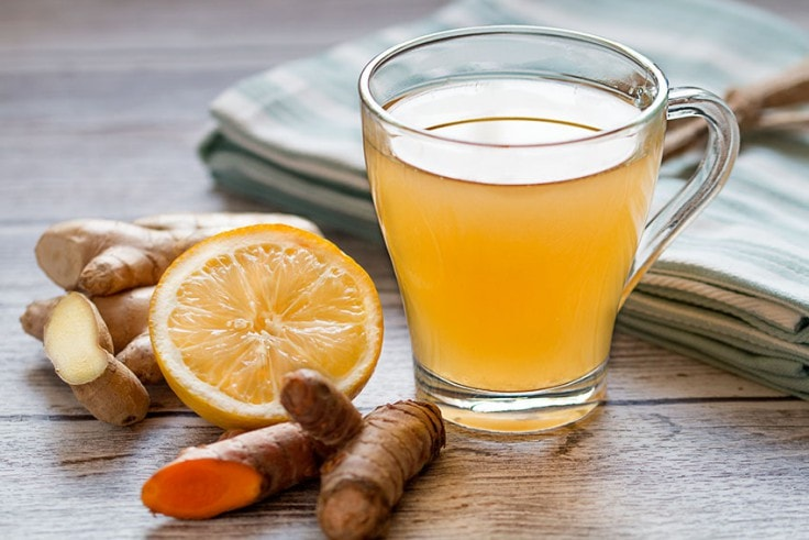 Malaria Treatment - Ginger Tea