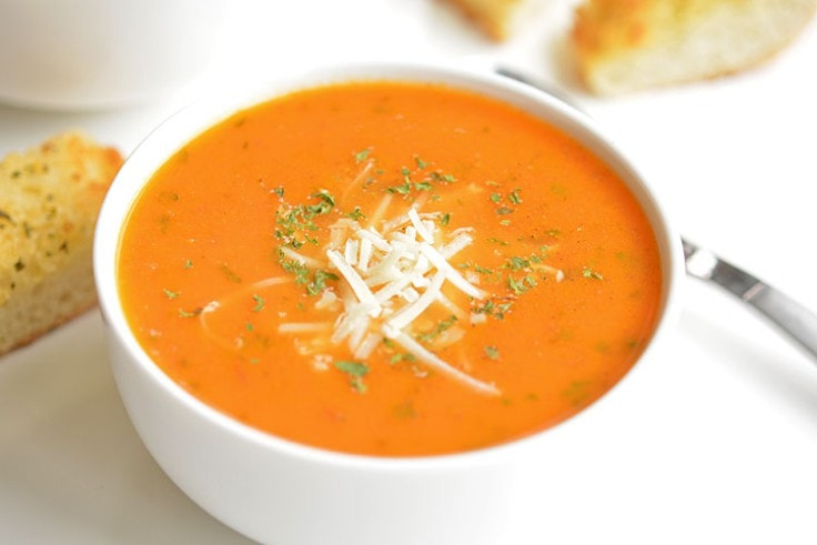 Malaria Treatment - Tomato Basil Soup