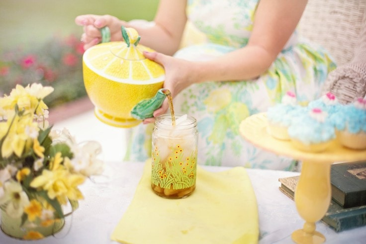 Summery Weight Loss Foods - Green Iced Tea