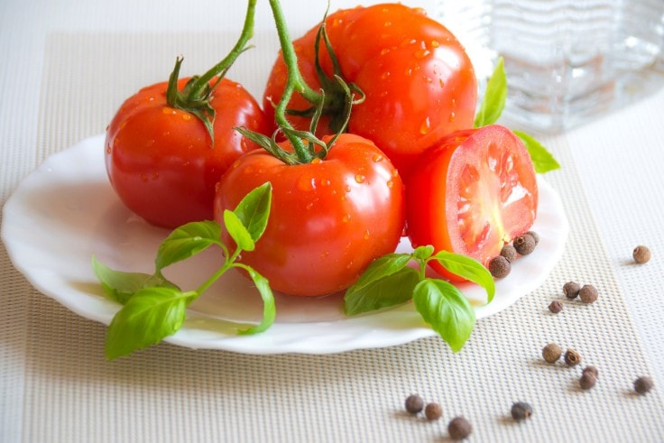 Summery Weight Loss Foods - Tomatoes
