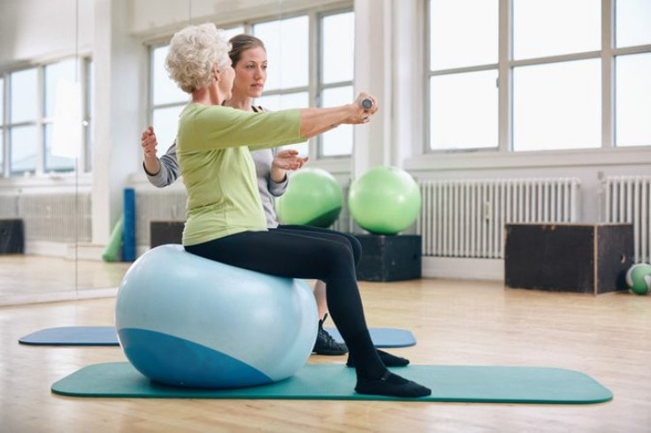 Best Exercise Machines For Seniors - Stability Ball