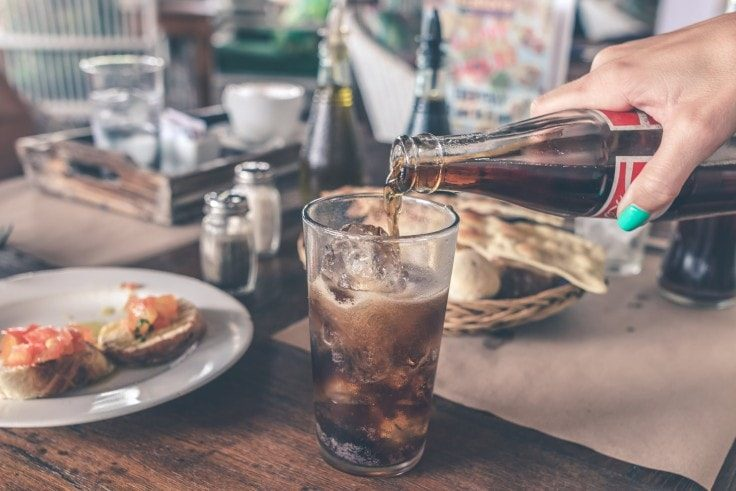 Avoid sodas if you want to lose weight without working out